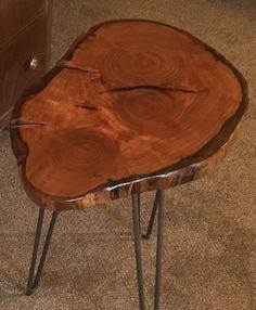 Cherry slab table