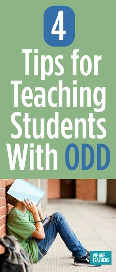 The author suggests 4 strategies for helping students with ODD manage their behavior in the classroom setting, as gathered from experienced teachers. These include: 1) avoiding power struggles, 2) offering choices, 3) offering reasonable rewards, and 4) building relationships.