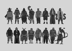 ArtStation - Cyberpunk - Character concept sketches, Agith P (VISJON)