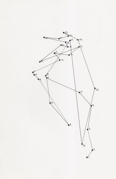 SURPRISE ABSTRACT DOT-TO-DOT by lucinda holmes, diagramism