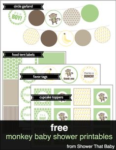Free baby shower printables shower that baby baby shower gif Boy Baby Shower Themes, Gender Neutral Baby Shower, Baby Shower Favors, Baby Boy Shower, Baby Shower Gifts, Free Baby Shower Printables, Free Printables, Free Baby Stuff, New Baby Products