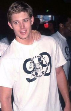 young Jensen! He's absolutely the most gorgeous man to walk the earth. Omg.