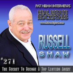 Russell Shaw has been in the real estate business since 1978, and has ranked among the top 1% of all agents in the United States since 1991. He has been recognized by the National Association of Realtors as being among the top 50 agents nationally for number of homes sold and by the Wall Street Journal... #realestate #podcast #pathiban #hibandigital #hibangroup #HIBAN #realestatesales #realestateagent #realestateagents #selling #sales #sell #salespeople #salesperson #russellshaw