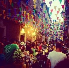 Street party   #madrid #spain #travel