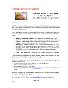 Honor Teacher Appreciation Week Open Letter From Irrncwu Employee Sample  Hashdoc