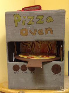 Pizza oven role play early years eyfs