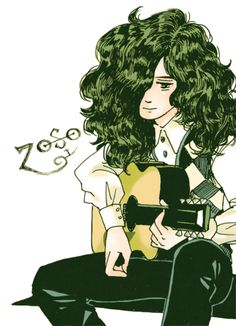 Jimmy Page / - DeviantArt Led Zeppelin Wallpaper, Led Zeppelin Art, Jimmy Page, Jimmy Jimmy, Robert Plant, Metal Bands, Rock Art, Rock And Roll, Illustration Art