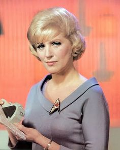 Majel Barrett as Nurse Chapel from Star Trek: The Original Series