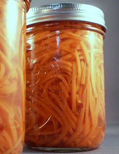 Sweet 'n Spicy Carrot Pickles Recipe - Delectable Musings