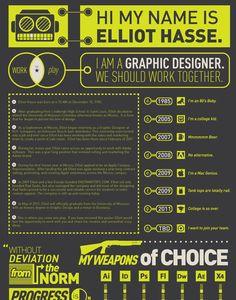 elliot hasse 30 Amazingly Creative Examples of Designer Resumes