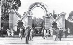 Nostalgia Curitibana | Eduardo Capistrano - Portal do Passeio Público em 1930