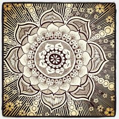 The mandala appears in all aspects of life: the celestial circles we call earth, sun, and moon. A mandala is...  An integrated structure organized around a unifying center.