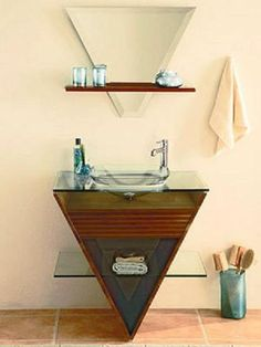 Modern bathroom fixtures are not only functional items, but attractive elements of bathrooms design and decorating