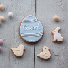 Hoppy easter biscuit gift set bunny biscuits easter cookies stylish easter biscuit gift sets by post negle Images