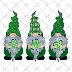 St Patricks Day Clipart, St Patricks Day Cards, Shamrock Clipart, Saint Patricks Day Art, St Patrick's Day Decorations, Clip Art, St Paddys Day, St Pats, Christmas Gnome
