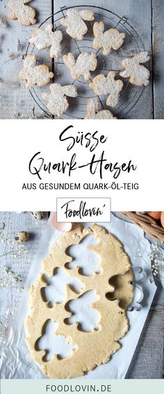 Sweet quark rabbits from healthier quark oil dough. With lean quark oatmeal and coconut oil. The post Sweet cottage cheese bunnies for Easter Recipe for healthy quark oil dough. appeared first on Win Dessert. Donut Recipes, Cookie Recipes, Dessert Recipes, Keto Donuts, Chocolate Donuts, Albondigas, Easter Dinner, Cupcakes, Easter Recipes
