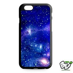 Blue Galaxy iPhone 6 Case | iPhone 6S Case