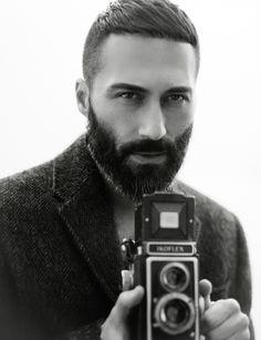 Vintage Camera & a Beard.. Heaven