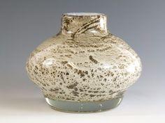 An excellent example of a rare Benny Motzfeldt Glass vase, unique, fully signed. Vintage Bottles, Bottle Vase, Norway, Vases, Glass Art, Detail, Unique, Artist, Ebay