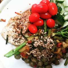 DINNER!!! #eating clean#lowcarb#protein#healthy by aylanevzat