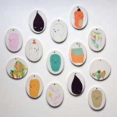 Miniature porcelain artwork by Ashley Goldberg