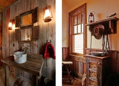 Cowboy Chic Interior Design. Gotta Love The Rustnicity Of It All.