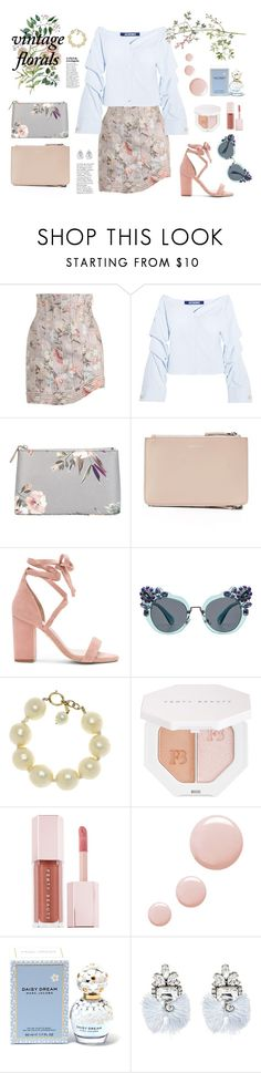 """""""make up you mind"""" by aangeles-mendoza ❤ liked on Polyvore featuring Zimmermann, Jacquemus, Hobbs, Raye, Miu Miu, Chanel, Puma, Topshop, Marc Jacobs and BaubleBar"""