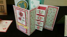 3d shoebox card love blocked