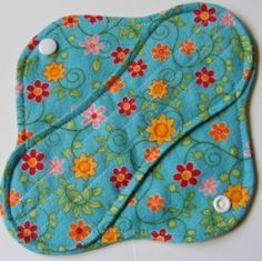 """Naturalizing"" Your Feminine Hygiene Routine  I have used cloth pads for years and would never go back!"" Pad looks soft and inviting. Read her piece on using cloth."