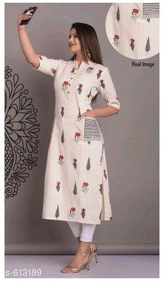 Silk Kurti Designs, Simple Kurta Designs, Churidar Designs, Kurta Designs Women, Kurti Designs Party Wear, Stylish Dress Designs, Stylish Kurtis Design, Indian Fashion Dresses, Indian Designer Outfits
