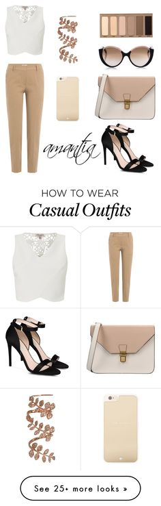 """Wedding guest: casual"" by amantiadervishaj on Polyvore featuring Brunello Cucinelli, STELLA McCARTNEY, Lipsy, 8, Cutler and Gross, Urban Decay, Kate Spade and Sidney Chung"