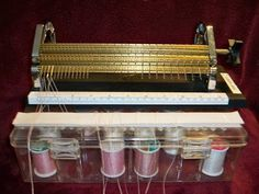 I am still super busy but I wanted to show you something that helps me save time. My Pleater  Thread Box.    To make one of your own you wil...