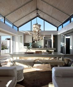 Residential Architecture, Luxury Villa, Kitchen Dining, Beach House, House Design, Cob, Living Room, Mirror, Gallery