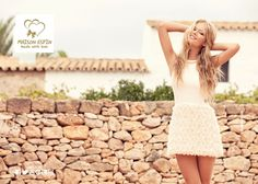 Maison Espin ss13, adv campaign, Made with Love, Formentera, Fashion, Lovely look, Heart,