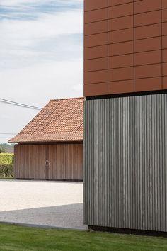 house barn extension - lokeren - pascal françois - 2013 - photo thomas de bruyne