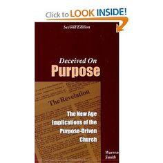 Love this book.. Very insightful regarding Rick Warren