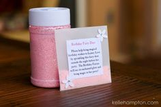 Cute idea for a little girls fairy party - this site has so many great ideas