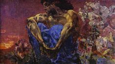 Mikhail Vrubel looked to the Demon throughout his life; adapting him to his constantly changing world. Description from artinrussia.org. I searched for this on bing.com/images