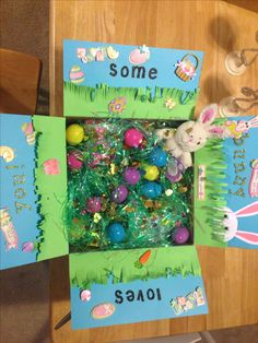 """Some bunny loves you"" Easter care package sent to Afghanistan! #husband #usmc #deployment"