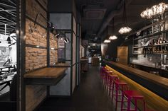 KNRDY Restaurant. Suto Interior Architects have completed the design of a steakhouse and bar in Budapest, Hungary