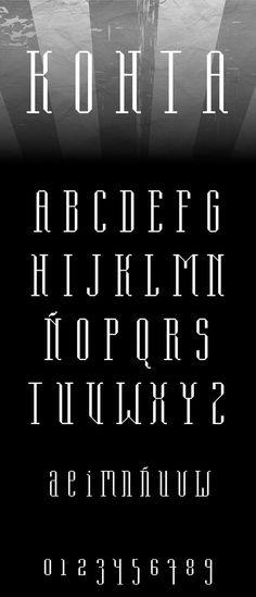 Kohta Free Font