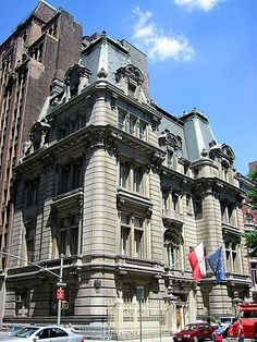 Joseph De Lamar's Beaux-Arts mansion at Madison Avenue and 37th Street is now the property of the Consulate General of The Republic of Poland. One of the most opulent gilded age mansions surviving in New York City, the stone residence was designed in 1902 by Charles Pierrepont Henry Gilbert (1860-1952), a society architect whose stock in trade was extravagant private mansions; his list of clients included the Woolworths.