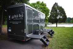 Beautiful outdoor events deserve beautiful restrooms for guests!