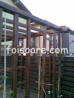 Pergole lemn pentru trandafiri 6m x 3m