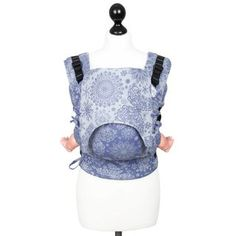 Babysize: Fidella Fusion baby carrier with buckles Iced Butterfly - pearl blue - https://fidella.org/en/babysize-fusion-baby-carrier-with-buckles-iced-butterfly-pearl-blue