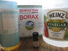 Frugally Sustainable: Natural Home Solutions: Removing Soap Scum From A Glass Shower Door Homemade Cleaning Products, Cleaning Recipes, Natural Cleaning Products, Cleaning Hacks, Natural Products, Household Products, Household Items, Cleaning Supplies, Shower Door Cleaner