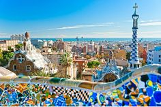 Explore Barcelona with this Free Travel Guide by TravDuck. Here are best places to visit in Barcelona. Best Travel Tourist Attractions Spots in Barcelona. Parc Guell, Voyage Europe, Barcelona Travel, Barcelona Guide, Barcelona City, Barcelona Food, Barcelona Catalonia, Barcelona Tours, Barcelona Hotels