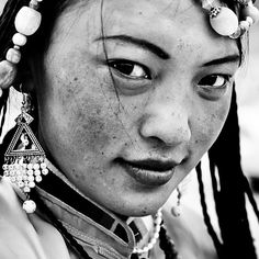 Tibetan Nomad Girl by Daniel Griffin; My favorite place on earth.