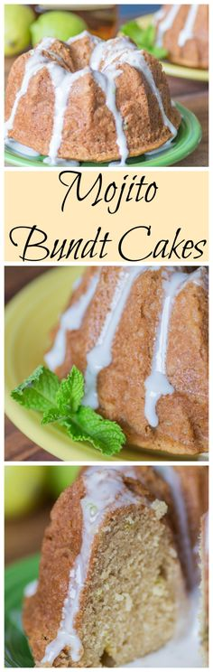Mojito Bundt Cakes for #BundtBakers from Sew You Think You Can Cook