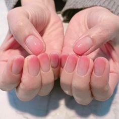 20 trending winter nail colors & design ideas for 2019 page 73 Korean Nail Art, Korean Nails, Korean Art, Cute Nails, Pretty Nails, Acryl Nails, Work Nails, Kawaii Nails, Gel Nails